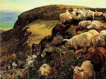 our english coasts by william holman hunt painting