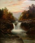 skelwith force nr ambleside westmoorland by william mellor painting