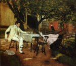 william merritt chase a summer afternon in holland prints