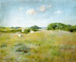a summer day by william merritt chase painting