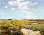 a sunny afternoon shinnecock hills by william merritt chase painting