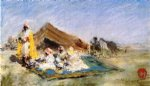 william merritt chase arab encampment painting