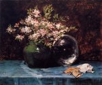 azaleas by william merritt chase painting