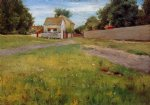 william merritt chase brooklyn landscape painting