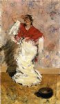 william merritt chase dancing girl painting