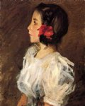 dorothy ii by william merritt chase painting