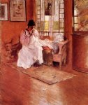 william merritt chase for the little one painting