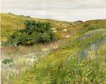 william merritt chase landscape shinnecock hills oil painting