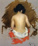 william merritt chase nude painting
