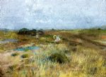 william merritt chase october ii painting