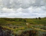 william merritt chase over the hills and far away ii oil painting