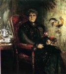 william merritt chase portrait of mme. e. h. bensel painting 22693