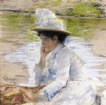 william merritt chase portrait of mrs. chase painting 22695
