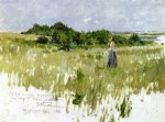 shinnecock hills 7 by william merritt chase painting
