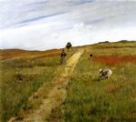 shinnecock hills 8 by william merritt chase painting