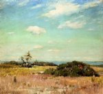 william merritt chase shinnecock hills long island oil painting