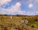 william merritt chase shinnecock landscape v painting