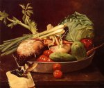 william merritt chase still life with vegetables paintings