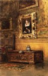 william merritt chase studio interior painting