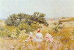 william merritt chase the fairy tale painting-22796