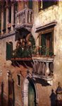 venice paintings - venice ii by william merritt chase