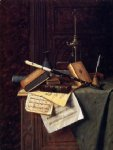 william michael harnett still life ii painting