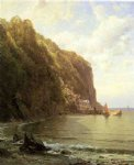 william trost richards coast of cornwall painting