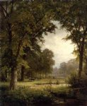 william trost richards idyllic landscape ii painting 22410