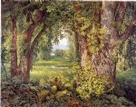 william trost richards into the woods painting