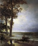 city paintings - near atlantic city new jersey by william trost richards