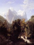 william trost richards path through the mountains painting