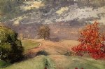 winslow homer autumn mountainville new york painting