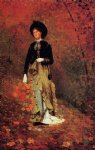 autumn by winslow homer painting