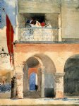 winslow homer customs house santiago de cuba painting
