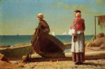 dad s coming by winslow homer painting