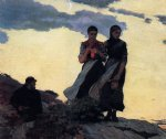early evening by winslow homer painting