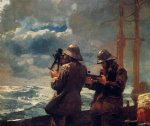 eight bells by winslow homer painting