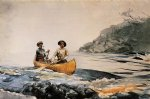 entering the first rapid by winslow homer painting