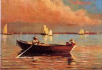 winslow homer gloucester harbor painting