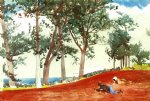 winslow homer house and trees paintings