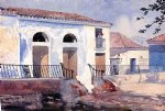 house paintings - house santiago cuba by winslow homer