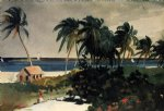 nassau by winslow homer painting