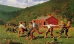 snap the whip ii by winslow homer painting