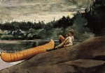the guide ii by winslow homer painting