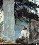 the guide by winslow homer painting