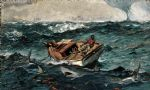 the gulf stream by winslow homer painting