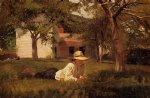 the nooning by winslow homer painting