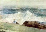 the northeaster by winslow homer painting
