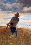 the reaper by winslow homer painting