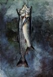 two trout ii by winslow homer painting